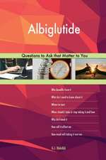 Albiglutide 563 Questions to Ask That Matter to You