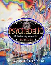 Psychedelic - Palescale Adult Coloring Book