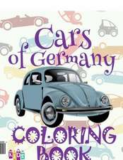 ✌ Cars of Germany ✎ Coloring Book Cars ✎ Coloring Book 5 Year Old ✍ (Coloring Book Enfants) Kids Coloring Book