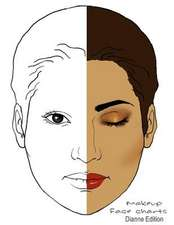 Makeup Face Charts Dianne Edition