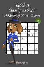 Sudokus Classiques 9 X 9 - Niveau Expert - N9
