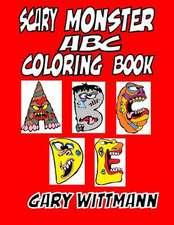 Scary Monster ABC Coloring Book