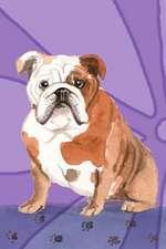 Journal Notebook for Dog Lovers, English Bulldog Sitting Pretty 5