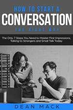 How to Start a Conversation