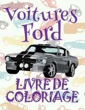 Voitures Ford Livre de Coloriage