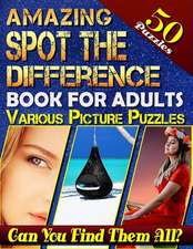 Amazing Spot the Difference Book for Adults