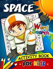 Space Word Search Activity Book for Kids