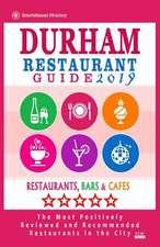 Durham Restaurant Guide 2019