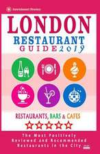 London Restaurant Guide 2019