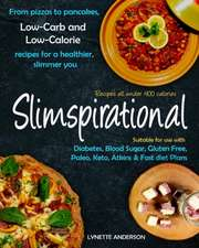 Slimspirational: From pizzas to pancakes, low-carb and low-calorie recipes for a healthier, slimmer you