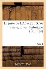 La Juive Ou L'Alsace Au Xive Siecle, Roman Historique. Tome 1