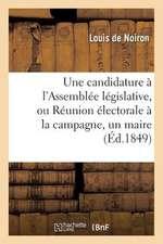 Une Candidature A L'Assemblee Legislative, Ou Reunion Electorale a la Campagne, Un Maire, Un Cure