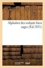 Alphabet Des Enfants Bien Sages