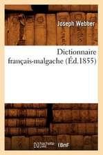 Dictionnaire Francais-Malgache (Ed.1855)