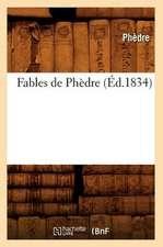 Fables de Phedre (Ed.1834)