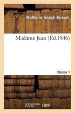 Madame Jean, Volume 1