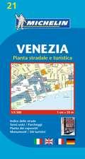 Michelin Map Venice/Mestre (Venezia) #21:  Bouches-Du-Rhne, Var
