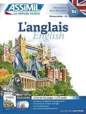 L'Anglais  (Book & 4 Audio Cds)