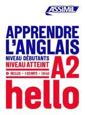 Apprendre L'Anglais - niveau A2: Book + 1 CD Mp3
