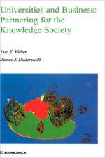 Universities and Business: Partnering for the Knowledge Society