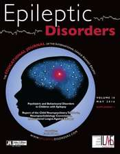 Psychiatric & Behavioural Disorders in Children with Epilepsy: Volume 18 -- May 2016 Supplement 1