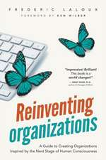 Reinventing Organizations: A Guide to Creating Organizations Inspired by the Next Stage of Human Consciousness
