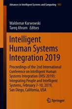 Intelligent Human Systems Integration 2019: Proceedings of the 2nd International Conference on Intelligent Human Systems Integration (IHSI 2019): Integrating People and Intelligent Systems, February 7-10, 2019, San Diego, California, USA