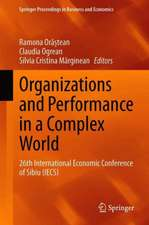 Organizations and Performance in a Complex World