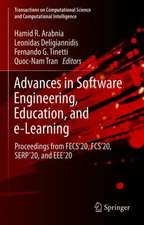 Advances in Software Engineering, Education, and e-Learning