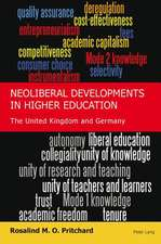 Neoliberal Developments in Higher Education