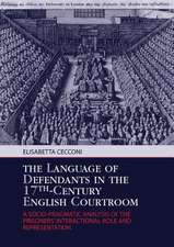 The Language of Defendants in the 17th-Century English Courtroom