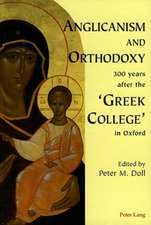 Anglicanism and Orthodoxy