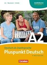 Pluspunkt Deutsch A 2/ Teilband 1. Kursbuch / Arbeitsbuch / Audio-CD