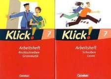 Klick! Deutsch 7. Schuljahr. Rechtschreiben und Grammatik / Schreiben und Lesen. Arbeitshefte. Westliche Bundesländer