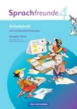 Sprachfreunde 4. Schuljahr. Arbeitsheft. Ausgabe Nord (Berlin, Brandenburg, Mecklenburg-Vorpommern)