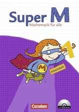 Super M 1. Schuljahr. Arbeitsheft mit CD-ROM