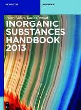 Handbook of Inorganic Substances