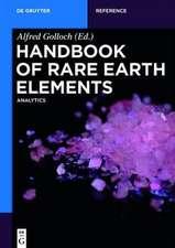 Handbook of Rare Earth Elements: Analytics
