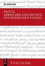 Abriss der Geschichte des römischen Volkes