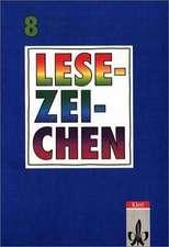 Lesezeichen. Ausgabe A/B für Gymnasien und Realschulen. 8. Schuljahr. Neuausgabe. RSR