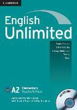 English Unlimited A2 - Elementary. Teacher's Pack with DVD-ROM