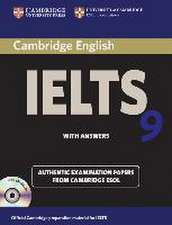 Cambridge IELTS 9. Self-study Pack (Student's Book with answers and  2 Audio CDs)