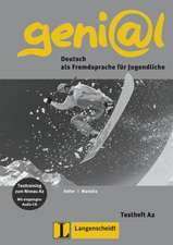 geni@l A2 - Testheft A2 mit Audio-CD