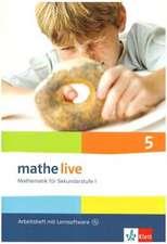 mathe live. Arbeitsheft mit Lösungsheft und Lernsoftware 5. Schuljahr.  Allgemeine Ausgabe