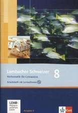 Lambacher Schweizer. 8. Schuljahr. Arbeitsheft plus Lösungsheft und Lernsoftware. Allgemeine Ausgabe