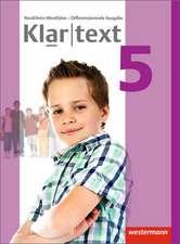 Klartext 5. Schülerband. Differenzierende Ausgabe. Nordrhein-Westfalen