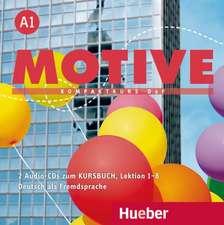 Motive A1. Lektion 1-8. Audio-CDs zum Kursbuch