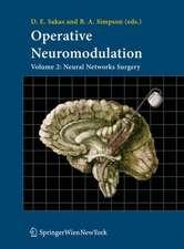 Operative Neuromodulation: Volume 2: Neural Networks Surgery