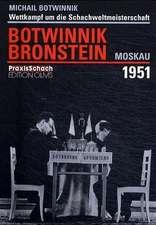 Wettkampf um die Schachweltmeisterschaft Botwinnik - Bronstein Moskau 1951