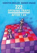 222 Opening Traps: After 1.d4